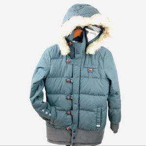 Oakley Gretchen Bleiler Snowboard Ski Down Jacket